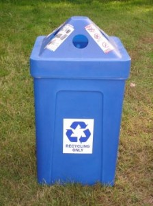 52 gallon recycling bin